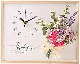 結婚式 両親プレゼント 「クロックブーケ」| 時計 両親ギフト 自分ギフト お揃いギフト 記念品 お祝い ギフト プレゼント