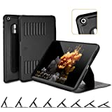 ZUGU CASE - iPad (7th Gen) 10.2 Case - Very Protective But Thin + Convenient Magnetic Stand + Sleep/Wake Cover (Black) laptop cases Oct, 2020