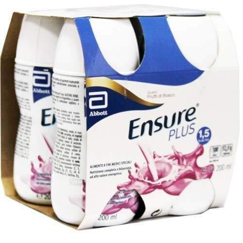 Ensure Plus Gusto Frutti di Bosco 4X200 ml