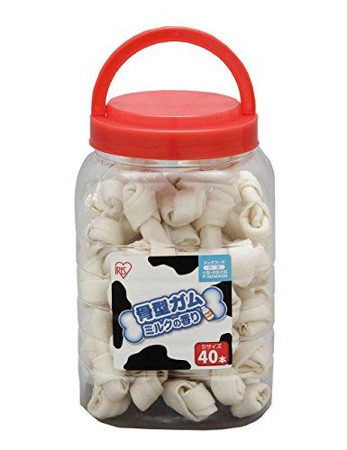 アイリスオーヤマ『骨型ガム ミルク味』