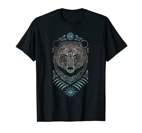 Vintage-Vikings celtic mythology Odins bear wildlife animal T-Shirt