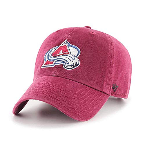 NHL \'47reinigen bis Verstellbarer Hat, Unisex, Scharlachrot