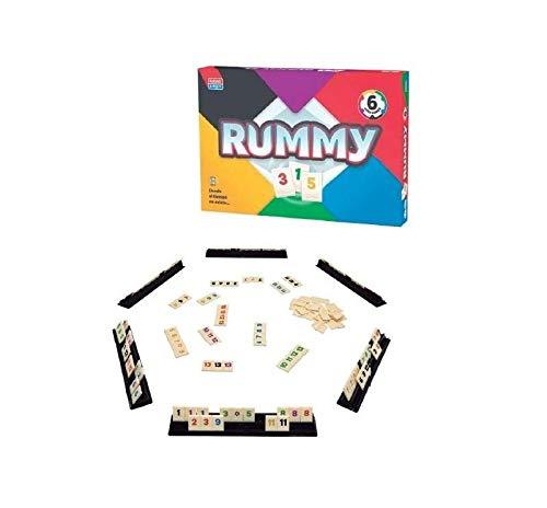 Falomir Rummy 6. Juego de Mesa. Clásicos