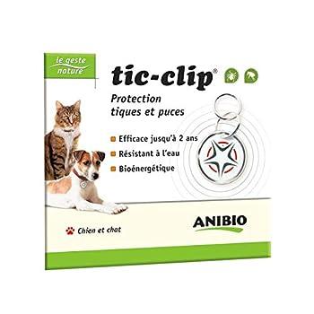 La médaille tic-clip est une innovation tout à fait originale des laboratoires Hess et Volk. La pleine efficacité de ce produit se réalise au bout de 5 jours et dure jusqu'à 2 ans pour les chats et les chiens. De nombreux propriétaires ont déjà adopt...