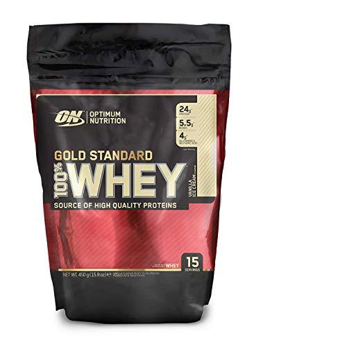 La proteína en polvo de suero de leche instantánea número 1 en ventas* durante más de 20 años, ideal para aquellos que buscan una ayuda antes, durante y después de entrenar Proteína de suero de absorción rápida con aislado de proteína de suero de lec...
