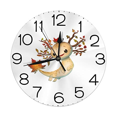 Melinda Perrodin Dryad Wanduhr Rund Uhr Elegante Farbe A Öl Digital Samt