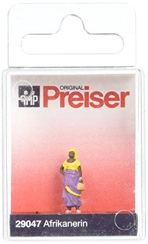Preiser 1/87 th – pr29047 – modelspoorbanen – Afrikaanse vrouw