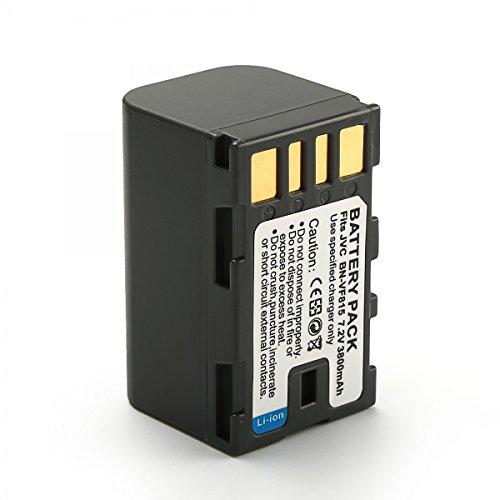 Rusty Bob - BN-VF823 acumulador / batería GZ-MS100,MS100REG,MS100BEG,MS90,MS90EU,MS95,MS95EU,MS120,MS120AEU,MS120BEU,MS120SEU,MS130 - Sólo la batería