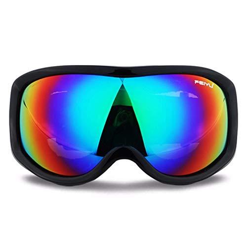 HSFX snowboard skibril, antislip, OTG, UV-bescherming, dubbele lens, anti-condens-systeem, airflow, wintersport, outdoor, skiën en sneeuwscooter.