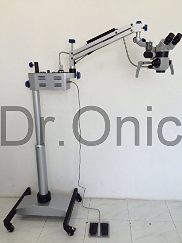 Dr.Onic Dental Microscope 5 Step, 90° Binoculars,Floor Type with LED Illumination