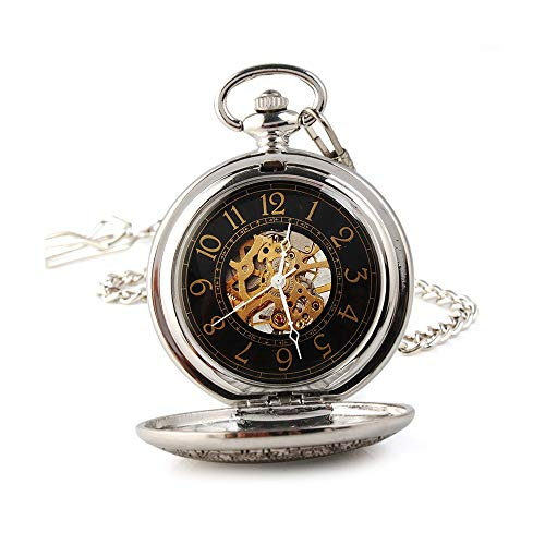 Reloj de Bolsillo clásico Reloj Reloj de Bolsillo Sencilla Retro clásico de...