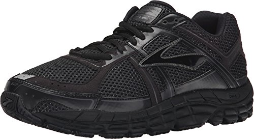 Brooks Addiction 12-Black/Anthracite, Extra Wide (4E)