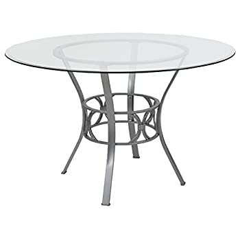 Best glass round dining table Reviews