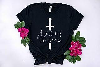dfd103107 A Girl Has No Name Arya Starkmother of Dragons T-shirts Sweatshirts Hoodies  Longsleeves