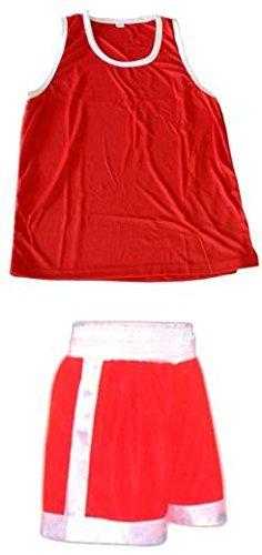 TOP Marques Collectibles Boxer Amateur Abbigliamento–Set in Rosso–Boxer e boxershirt, Rot
