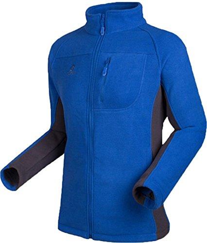BININBOX® Manteau de la Veste Mens Couleurs mélangées Veste Fonctionnelle Veste Météo Veste de Protection Chaude Coupe-Vent pour Automne et l'hiver en