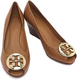 [トリーバーチ] 靴 オープントゥ ウエッジソール パンプス ブラウン (50008660 253 ROYAL TAN/GOLD) [並行輸入品]