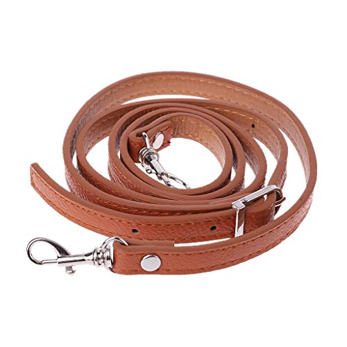 SimpleLife DIY Reemplazo Bolso de Cuero Correa de Hombro Manija Bolsos de Bricolaje Cinturones Monedero Correa Bolsos Cruzados Accesorio, Ajustable, 120 cm