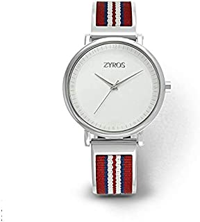 Zyros Casual Watch For Women Analog Leather - ZY599M111103R