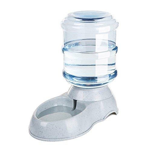 DZL- Dispensador de Comida de Mascotas 3.5L alimentador automático de Mascotas Fuente de Agua de Gato Perro de plástico de Alimentos Bowl Mascotas dispensador de Agua (Bebedero)