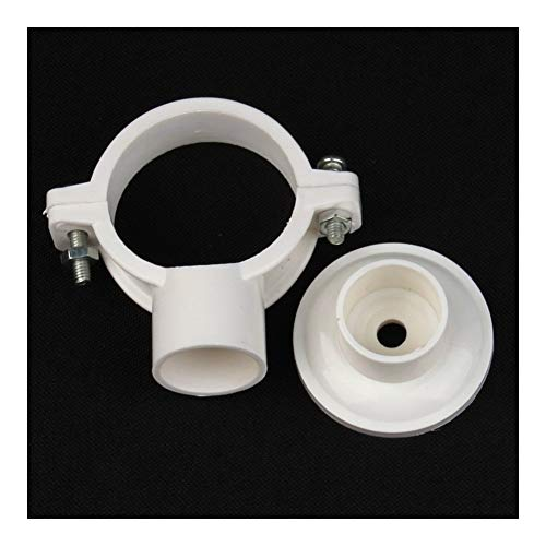 Tubes, Pipes & Hoses 35pcs 20~40mm PVC Pipe Clamp Garden Irrigation Water Pipe Connectors Bathroom Decor Home Improvement Tools Disc Base Tube Clamp (Color : 25I32mm)