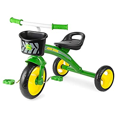 John Deere Steel Tricycle, Green from TOMY Intl