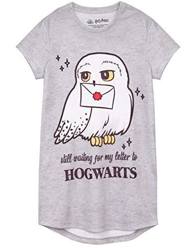 HARRY POTTER Vestido Nocturno Hedwig Hogwarts Niños de Chica Niños Nightgown 2