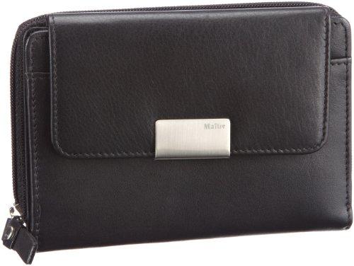 Maitre RV-Damenbörse 4060001021 Damen Geldbörsen 14x10x1 cm (B x H x T), Schwarz (black 900)