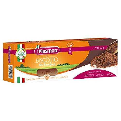 Plasmon Biscotto Plasmon Cacao, Confezione da 16x240 g