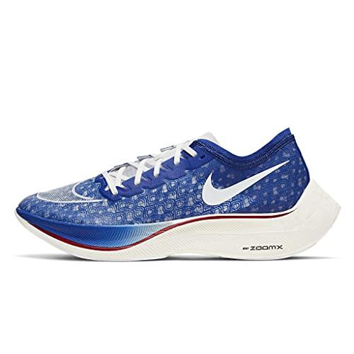 Nike ZOOMX VAPORFLY Next%, Zapatillas para Correr Unisex Adulto, Game Royal White Gym Red Total Orange Sail, 42 EU