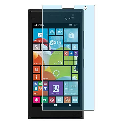 Vaxson 4 Stück Anti Blaulicht Schutzfolie, kompatibel mit NOKIA Lumia 735 730, Bildschirmschutzfolie TPU Folie Displayschutz [nicht Panzerglas Hülle Hülle ]