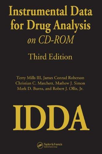 Terry Mills, I: Instrumental Data for Drug Analysis on CD-Ro