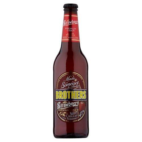 Brothers Erdbeer Cider 500ml Flasche