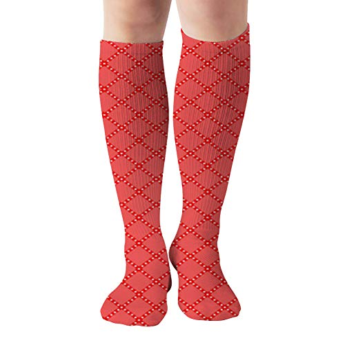 Traditional Tablecloth Table Illustrations Clip Art Compression Socks For Women And Men - Best Medical,For Running, Athletic, Varicose Veins, Travel 19.68 Inch