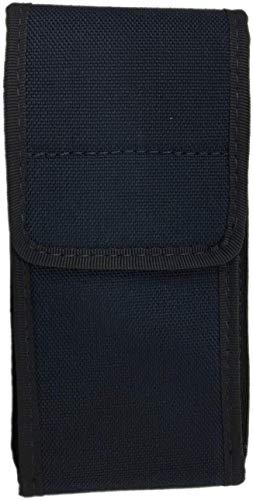 Vega Holster Porta Smartphone o Cellulare in Cordura da Cinturone 2R28 (Blu Polizia)