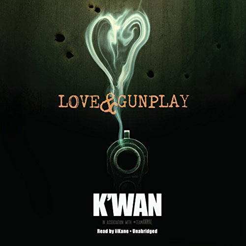 Love & Gunplay audiobook cover art