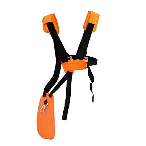 SUNMON Trimmer Shoulder Strap - Mower Trimmer Harness Strap Double Shoulder with...
