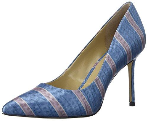 Katy Perry Women's THE SISSY Shoe, Blue Multi, 9.5 Medium US