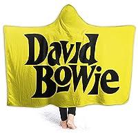 David Bowie デヴィッド・ボウイ フーディーブランケット あったか ブランケット 柔軟 ブランケット おしゃれ フランネル 130*100cm 女性 両面使える 携帯用 ベッドカバー