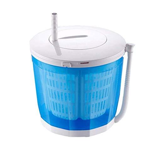 Waschmaschine Mini Dehydrator Handbetriebene Waschmaschine (Farbe : Blau)