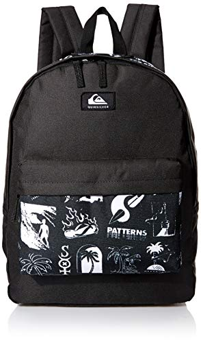 Quiksilver Men's Everyday Poster Double Backpack, White, 1SZ