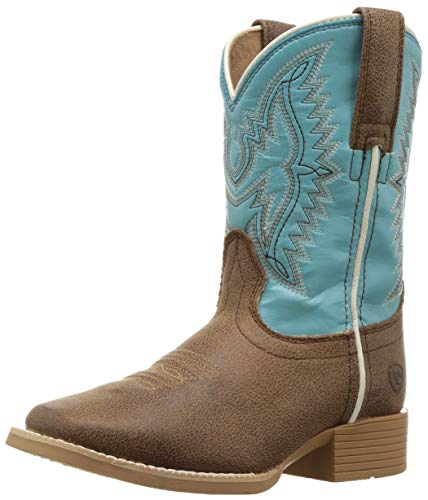 Ariat Baby BRISTO Western Boot, Tan Tilt, 8 M US Toddler