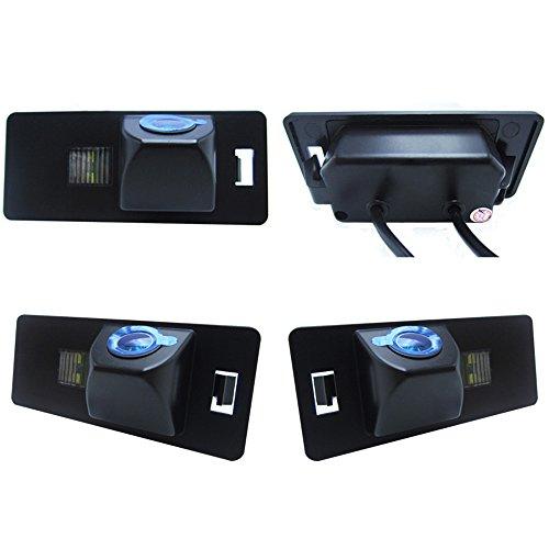 Dynavsal Rückfahrkamera wasserdicht Nachtsicht Auto Rückansicht Kamera Einparkhilfe Rückfahrsystem, Schwarz für Audi A3 A4 A5 A6 A8 Q3 Q5 Q7 A6L A8L A4L TT TTRS TTS Passat 5D B7 B8 B9 R36 RS5 S6 S7