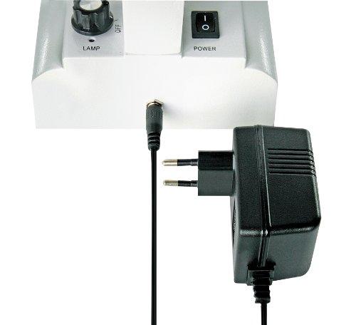 Bresser 3D Stereo Auflicht- Durchlicht Mikroskop Researcher ICD LED 20x-80x Vergrößerung mit 360° drehbarem Tubus, LED Beleuchtung mit Akku- oder Netzbetrieb, für dreidimensionale Beobachtungen