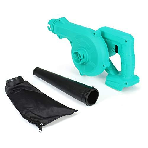 Sopladora Limpiador de equipo eléctrico de aire del ventilador polvo que sopla polvo equipo colector de polvo del aire del ventilador soplador 220 for Makita 18V de la batería Soplador De Hojas