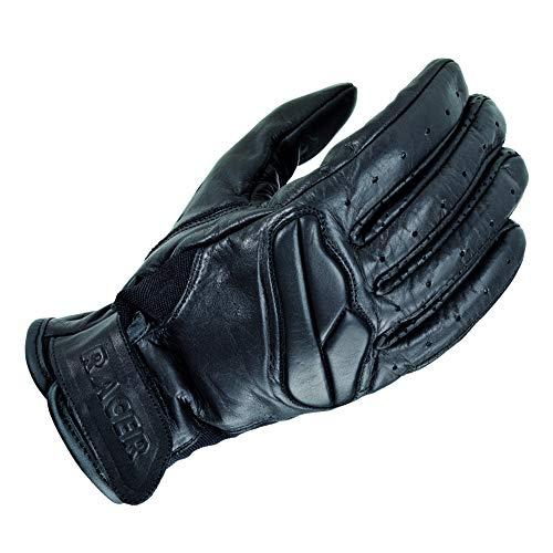 Racer Field Handschuh, Schwarz, Größe M