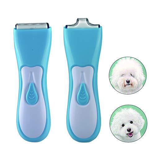 Pet USB Elektrische Tondeuse Met Dubbele Bladen Afneembare Wasbare Professionele Huisdier Tondeuse Voor Katten, Honden En Konijnen Lang Haar Dieren
