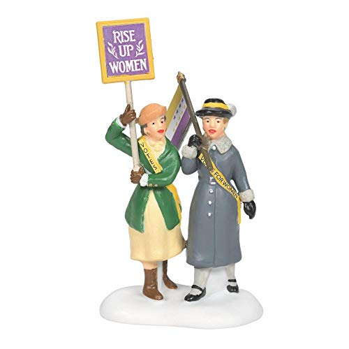 Department 56 Christmas in The City Suffragettes Village Figures