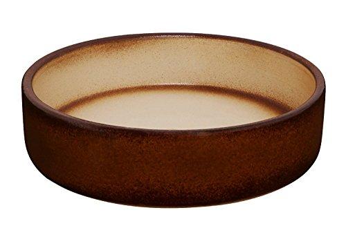 K&K - Vaso per bonsai e piante, dimensioni: 20 x 6 cm, (capacità: 800 ml) adatto per esterni, completamente smaltato in gres porcellanato pesante.