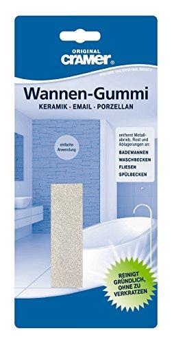 Cramer 83960 0, Reinigungs Gummi-für Sanitär-Keramik und Stahl-Email-Wannen